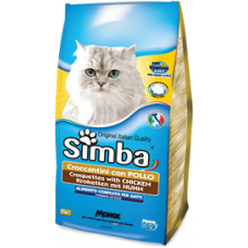 Simba Cat корм для кошек с курицей 2 кг