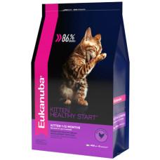 EUK Cat корм с домашней птицей для котят 400 г