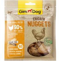 """GimDog дополнительный корм (лакомство) куриный для собак - """"наггетсы"""" 55 г"""