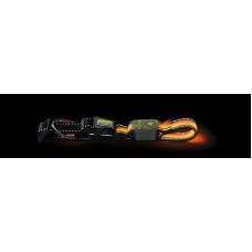 Hunter LED Ошейник Manoa Glow L (55-60)/2,5 оранжевый