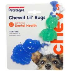 """Petstages игрушка для собак Mini """"ОРКА жуки"""" 15 см, пара"""