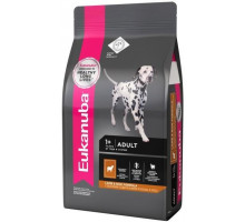 EUK Dog корм для взрослых собак всех пород ягненок 1 кг.