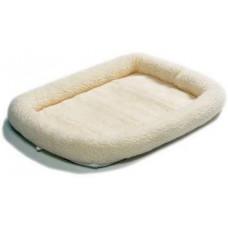 MidWest лежанка Pet Bed флисовая 58х45 см белая