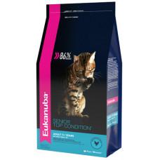 EUK Cat корм с домашней птицей для пожилых кошек 2 кг