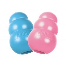 KONG Puppy игрушка для щенков классик M 8х5 см средняя цвета в ассортименте: розовый, голубой