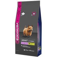 EUK Dog корм для взрослых собак мелких пород 15 кг