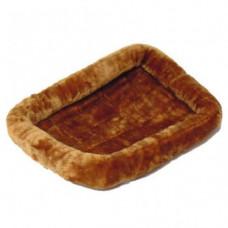 MidWest лежанка Pet Bed меховая 61х46 см коричневая