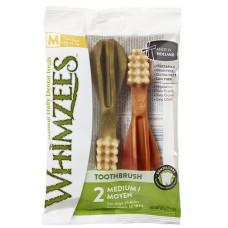 Whimzees Зубная щетка для собак М 11 см 2 шт в блистере