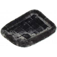 MidWest лежанка Pet Bed меховая 56х33 см серая
