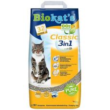 BIOKAT'S CLASSIC наполнитель комкующийся 10 л (10 кг)