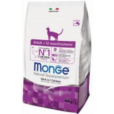 Monge Cat корм для взрослых кошек 400г