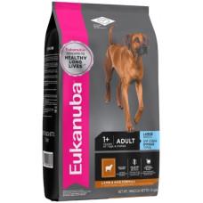 EUK Dog корм для взрослых собак крупных пород ягненок 12 кг.