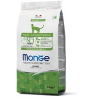 Monge Cat Monoprotein Adult Rabbit корм для взрослых кошек с кроликом 1,5 кг