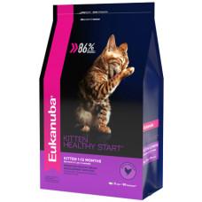 EUK Cat корм с домашней птицей для котят 2 кг