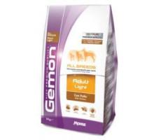 Gemon Dog Light низкокалорийный корм для взрослых собак всех пород 3 кг
