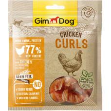 """GimDog дополнительный корм (лакомство) куриный для собак - """"спиральки"""" 55 г"""