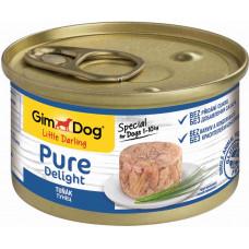 GimDog Pure Delight консервы для собак из тунца 85 г