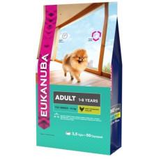 EUK Dog корм для взрослых собак миниатюрных пород 3,5 кг