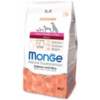 Monge Dog Speciality Extra Small корм для взрослых собак миниатюрных пород лосось с рисом 800г