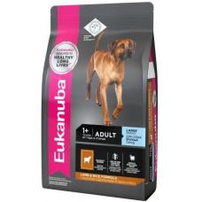 EUK Dog корм для взрослых собак крупных пород ягненок 2,5 кг.