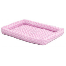 MidWest лежанка Fashion плюшевая 56х33 см розовая