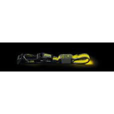 Hunter LED Ошейник Manoa Glow M (50-55)/2,5 желтый