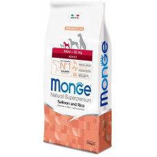 Monge Dog Speciality Mini корм для взрослых собак мелких пород лосось с рисом 7,5 кг