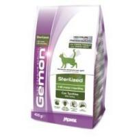 Gemon Cat Sterilised корм для стерилизованных кошек с индейкой 400г