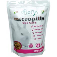 FIORY корм для карликовых кроликов Micropills Vet Care Obesity против ожирения 850 г