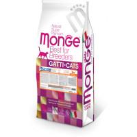 Monge Cat Monoprotein Sterilised корм для стерилизованных кошек с уткой 10 кг