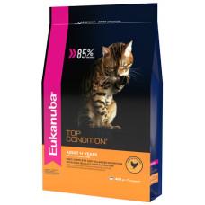 EUK Cat корм с домашней птицей для взрослых кошек 400 г