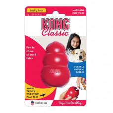 """KONG Classic игрушка для собак """"КОНГ"""" S малая 7х4 см"""