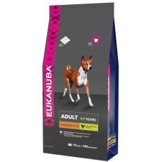 EUK Dog корм для взрослых собак средних пород 19 кг